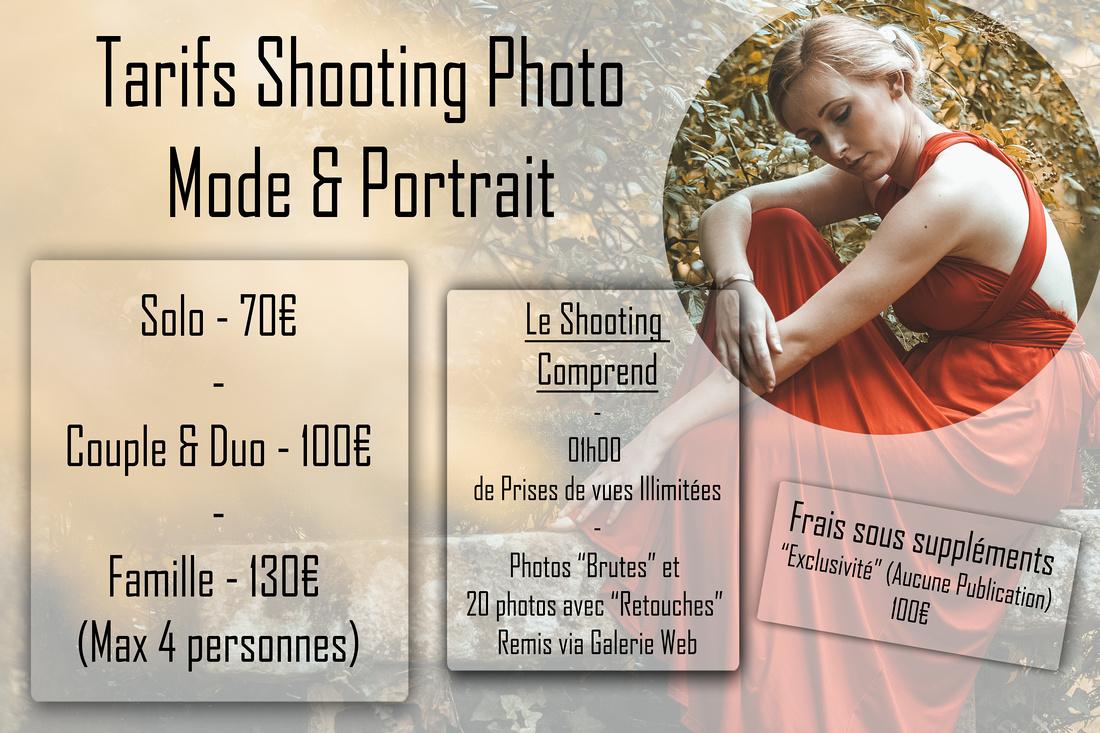 Tarifs Shoot